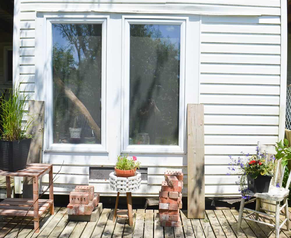 How to enclose a patio into a room?