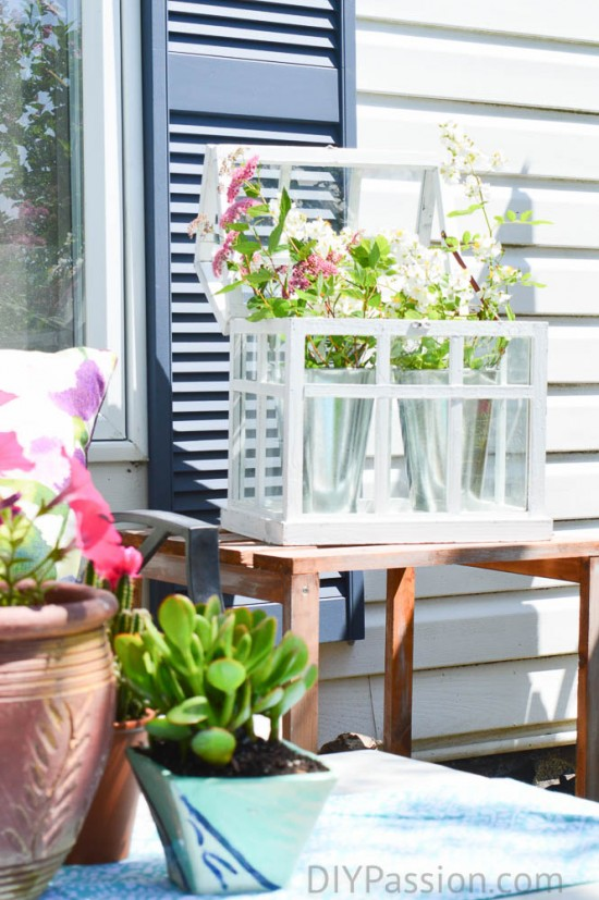 Paint Sprayer makes shutters an easy DIY