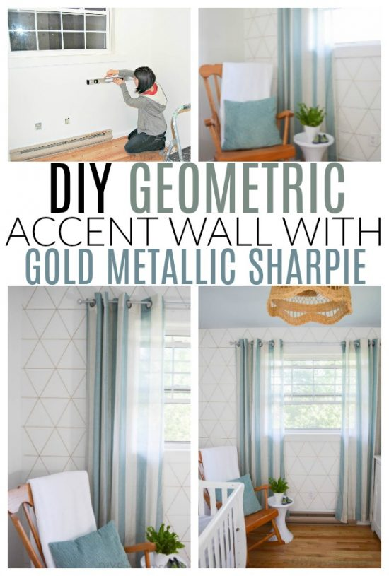 diy sharpie wall