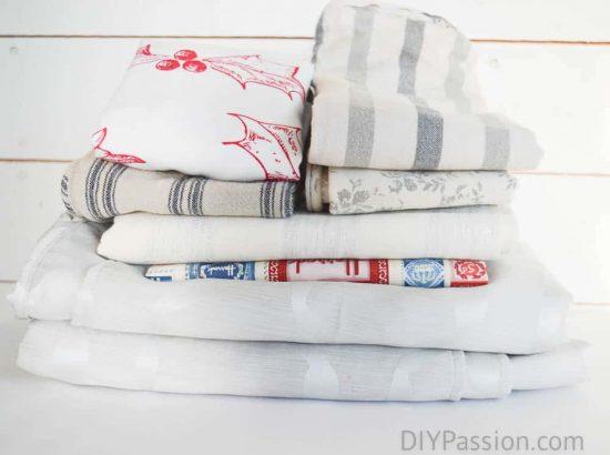 Fold and pile based on season