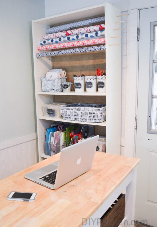 diy-wrapping-paper-storage-unit