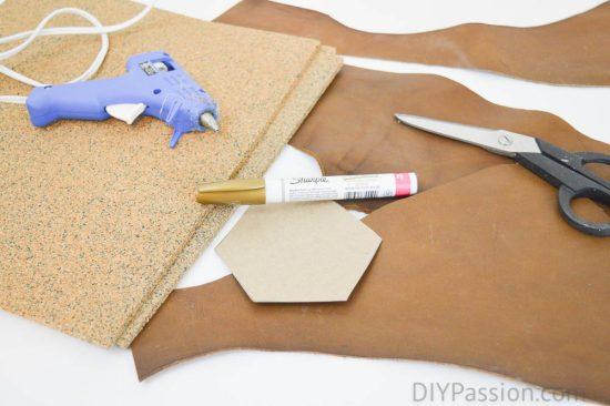 Make DIY Leather Coasters