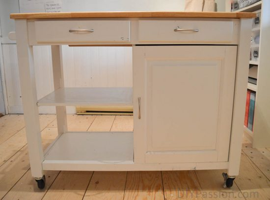 before-the-craft-cart-kitchen-cart