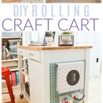 rolling craft cart