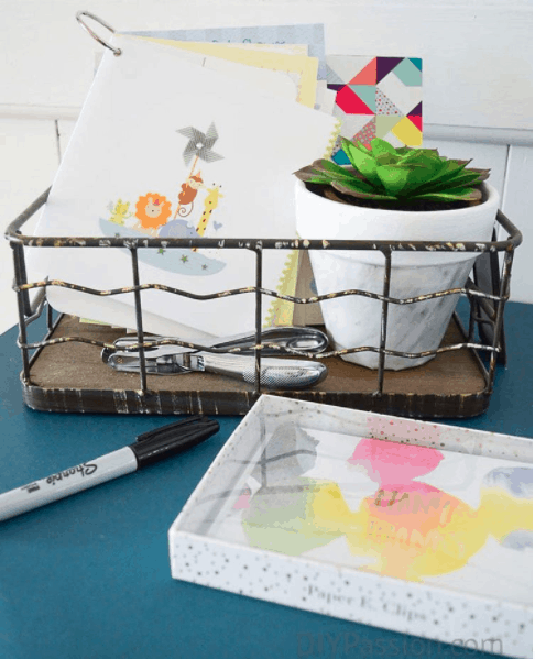 how-to-organize-greeting-cards-keep-them-in-a-basket