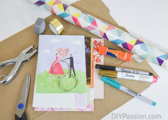 organize-greeting-cards-the-supplies