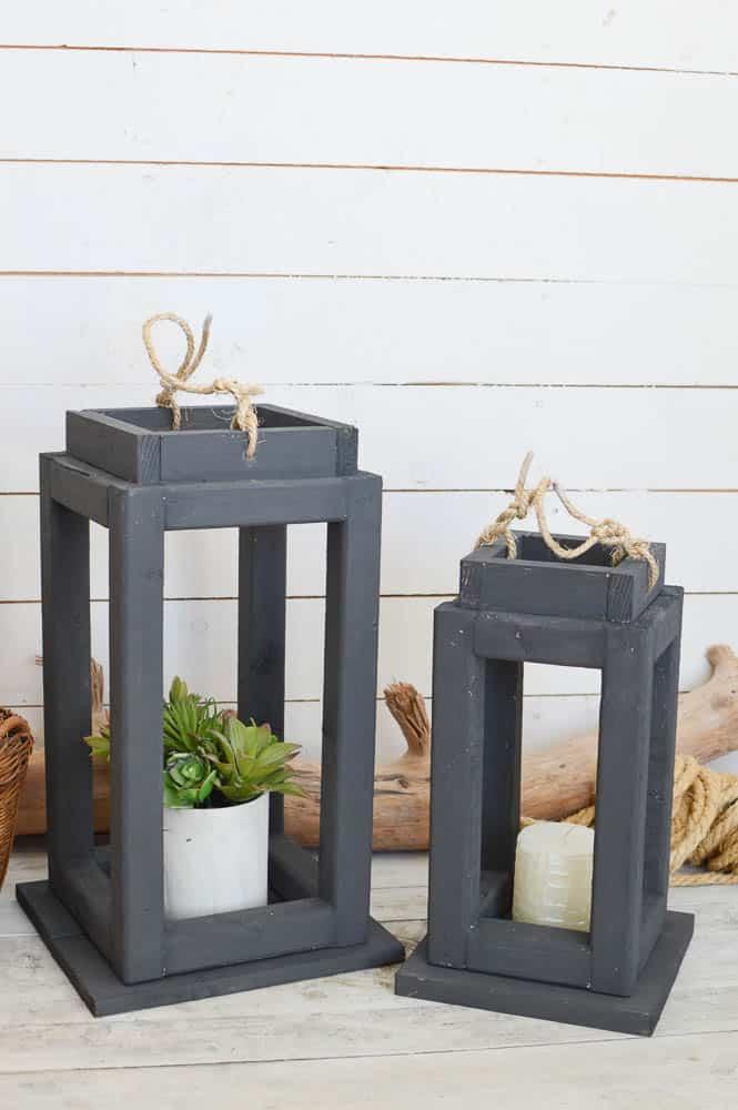Brighten Up Your Decor With Diy Wooden Lanterns Diy Passion