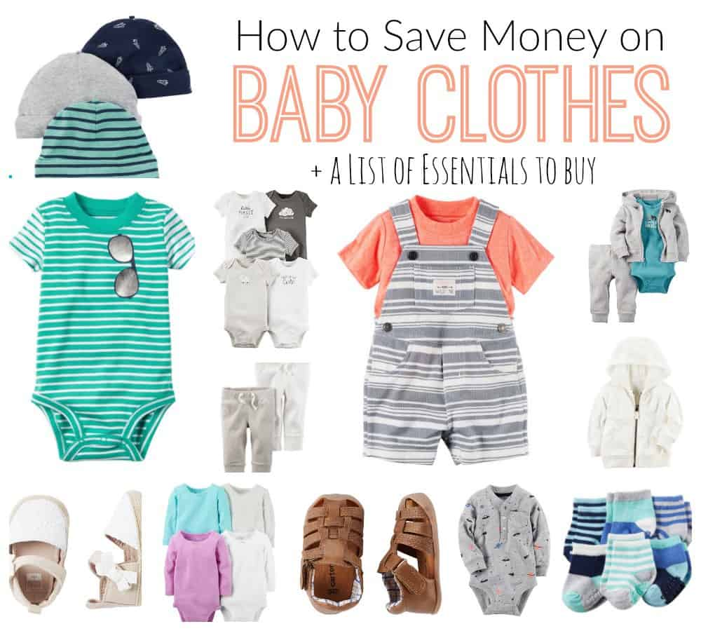 How to Save Money on Baby Clothes {Family Files} - DIY Passion