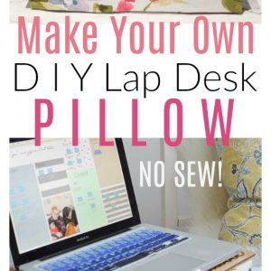 Lap Desk Pillow