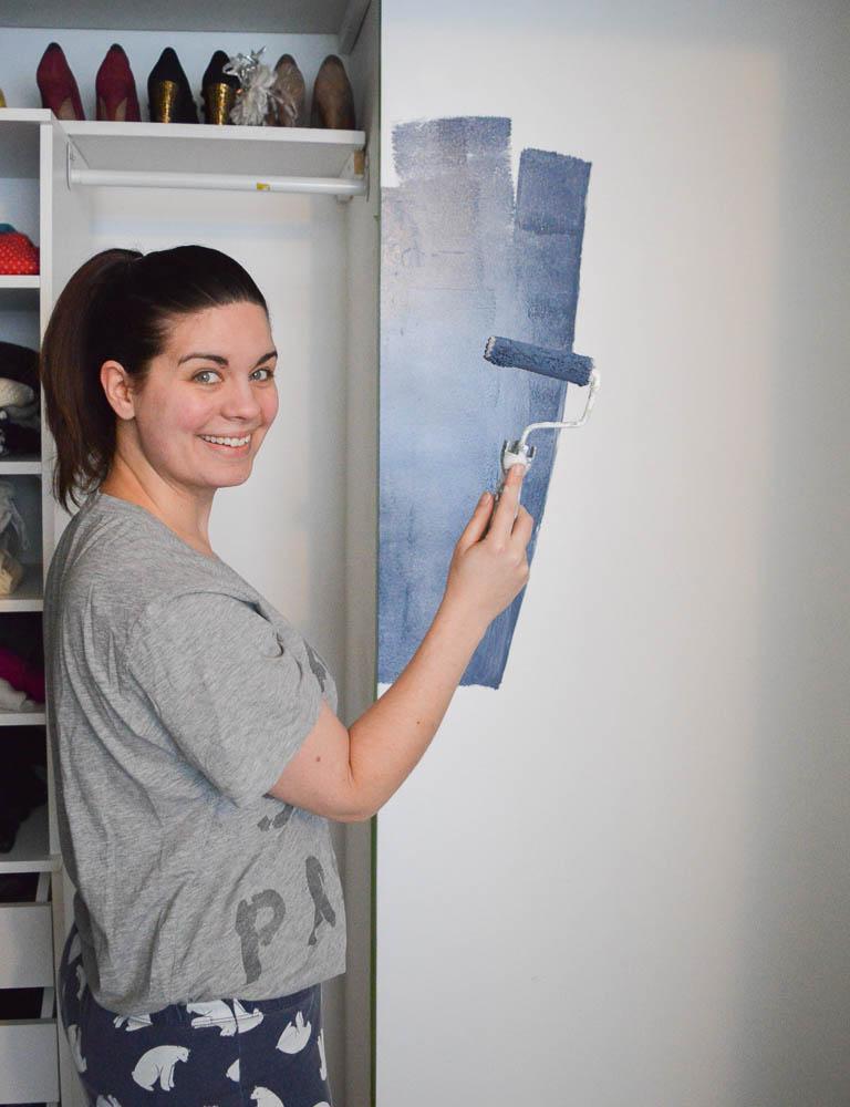 chalk painted dresser, ideas to paint a dresser