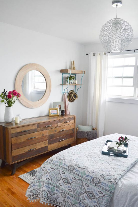 Bold Blue And White Bedroom Reveal Orc Week 6 Diy