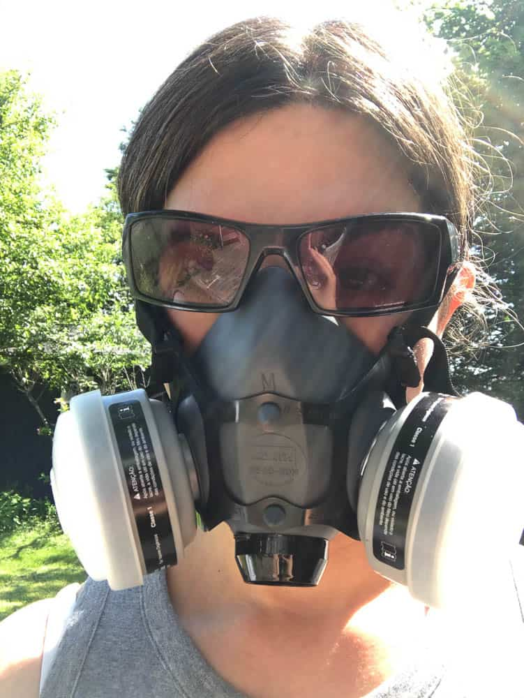 Erin wearing Protective Mask-8