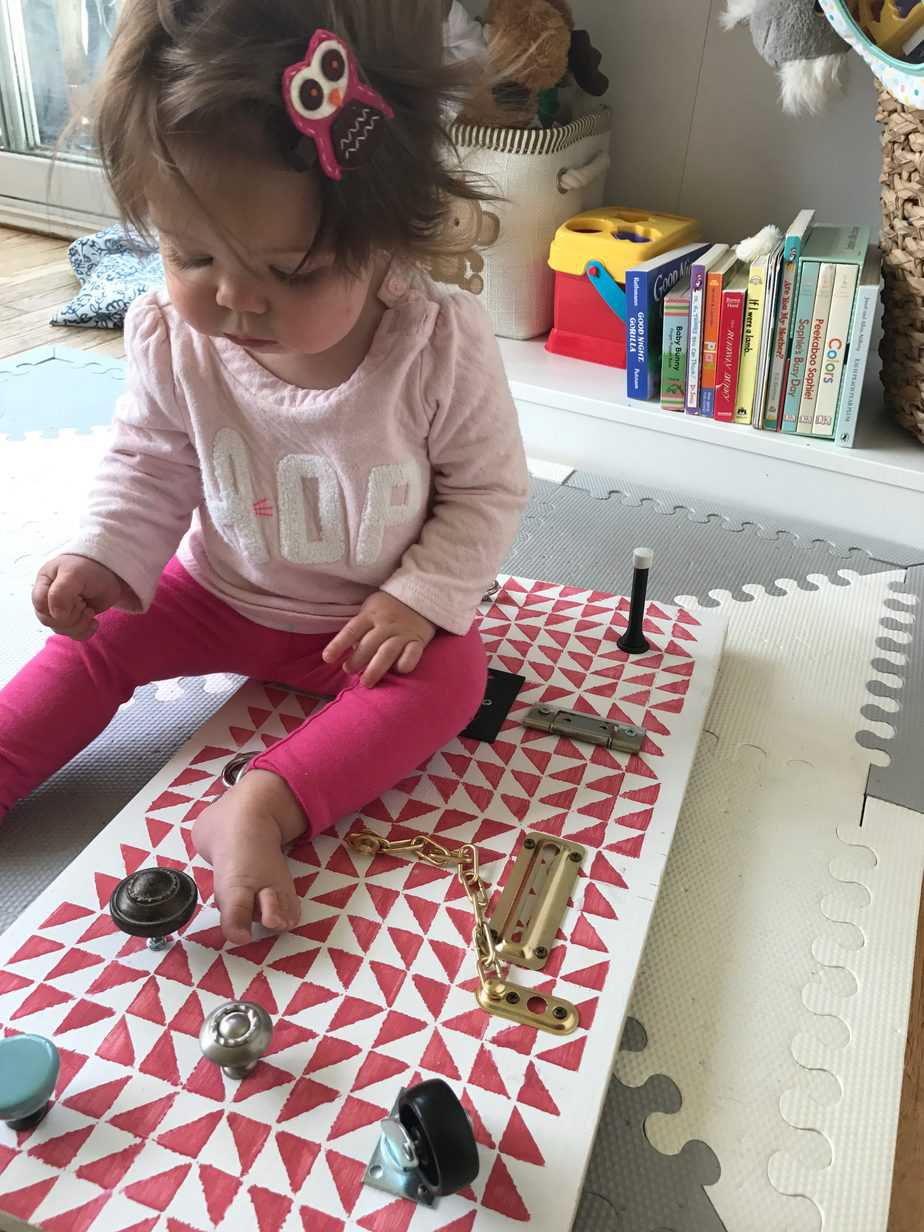 How To Make A Toddler Busy Board Diy Passion