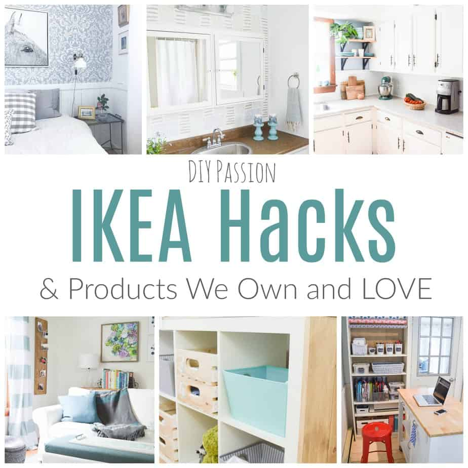 my favourite ikea hacks and what we own love diy passion. Black Bedroom Furniture Sets. Home Design Ideas