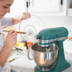 Holiday Baking Traditions 8 - Erin with Kitchenaid