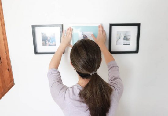 Instagram Photo Wall with IKEA frames