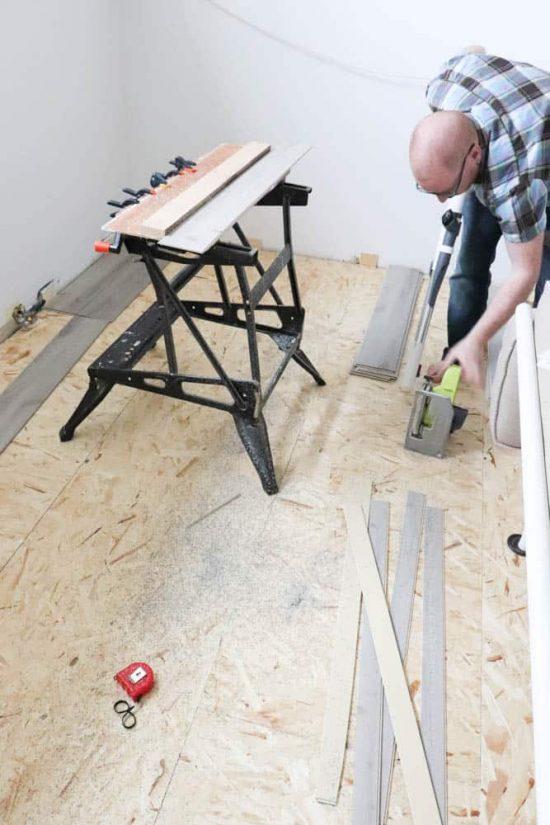 How to Install Vinyl Composite Flooring