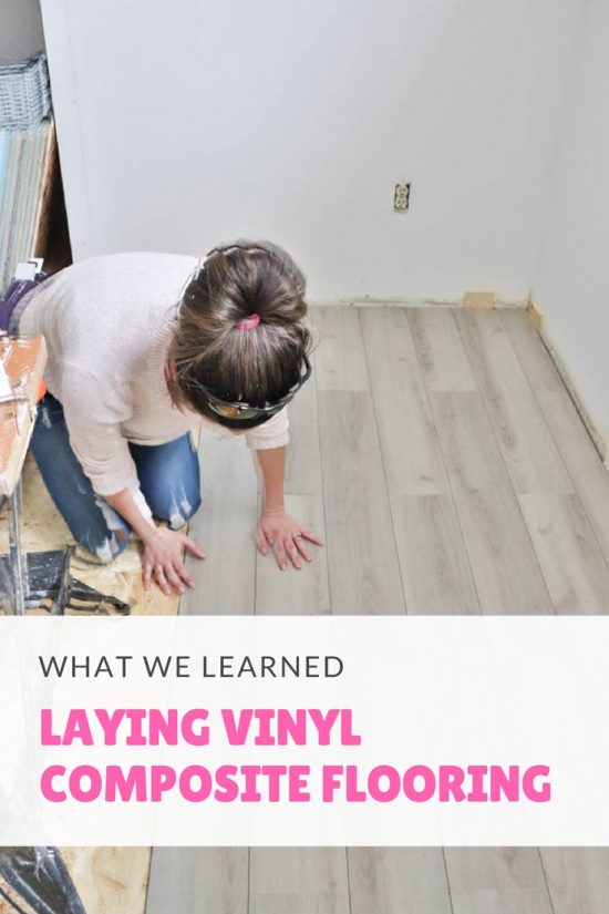 Laying Vinyl Composite Flooring