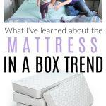 mattress in a box trend