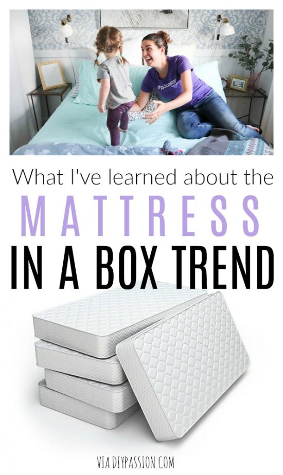 mattress in a box trend