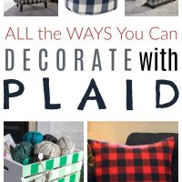 Decorate with Plaid
