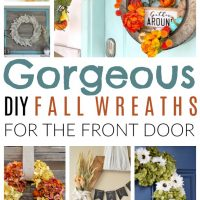 fall wreaths for the front door