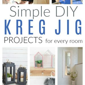 diy kreg jig projects