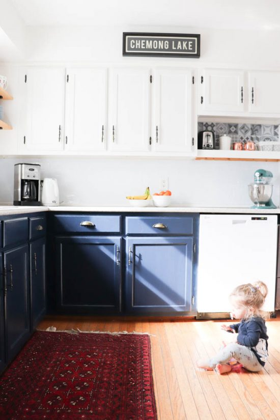 How We Completely Updated Our Kitchen For Less Than 1200