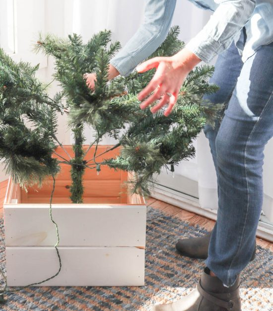 How To Make A Diy Christmas Tree Stand Cover Diy Passion