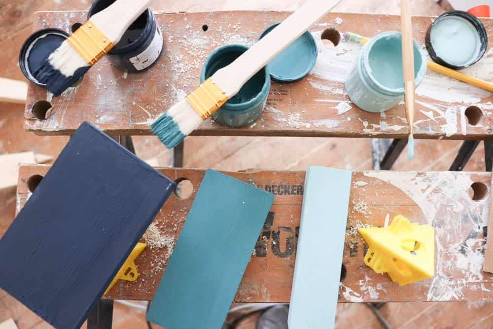 Materials needed for Chalk Painting a Dresser