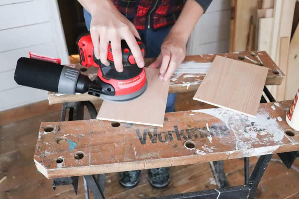 DIY Wooden Notebook - Sanding, Why DIY a Dresser Drawer?