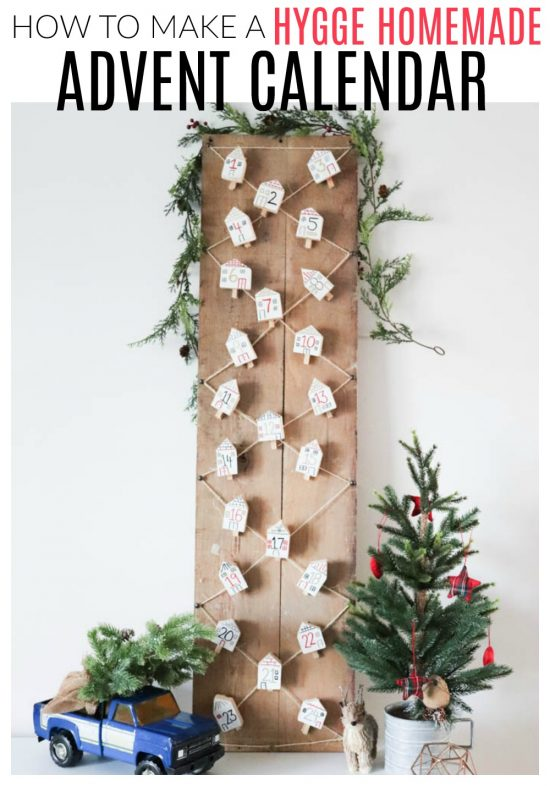 How To Make A Hygge Homemade Advent Calendar Diy Passion