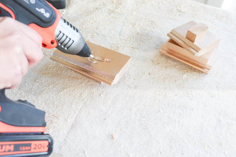 Drill holes and smoothen the connecting surfaces