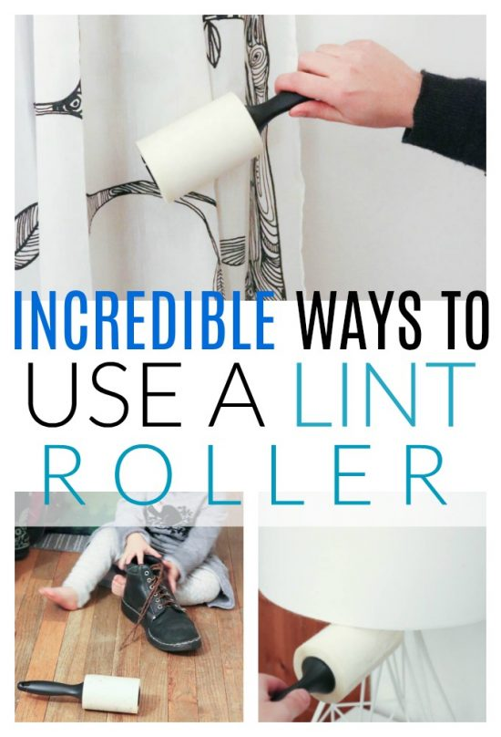 ways to use a lint roller