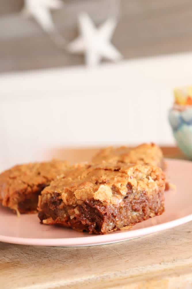 Kid-friendly Coconut Blondie Bars