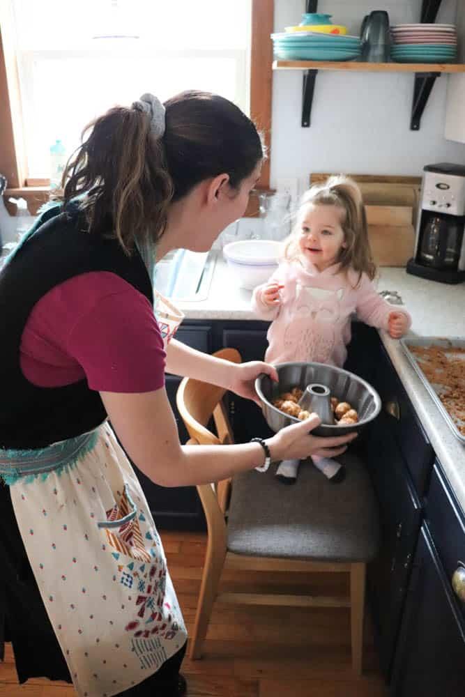 Monkey Bread with Rhodes Rolls- Easy Recipe