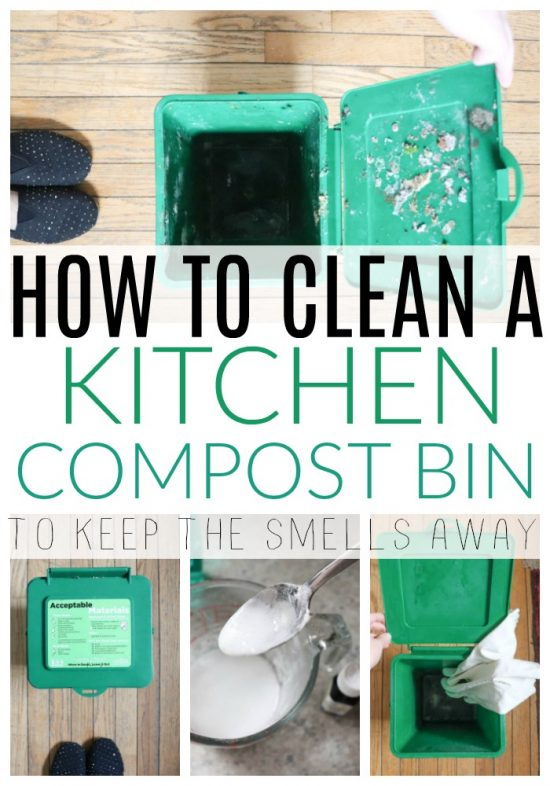 Combat Kitchen Odours with a DIY Compost Bin - DIY Passion