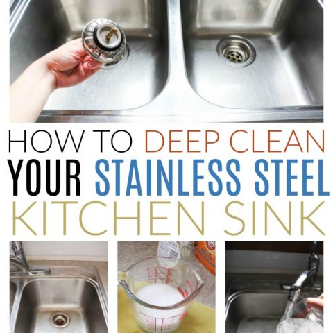 How To Deep Clean A Stainless Steel Sink Diy Passion