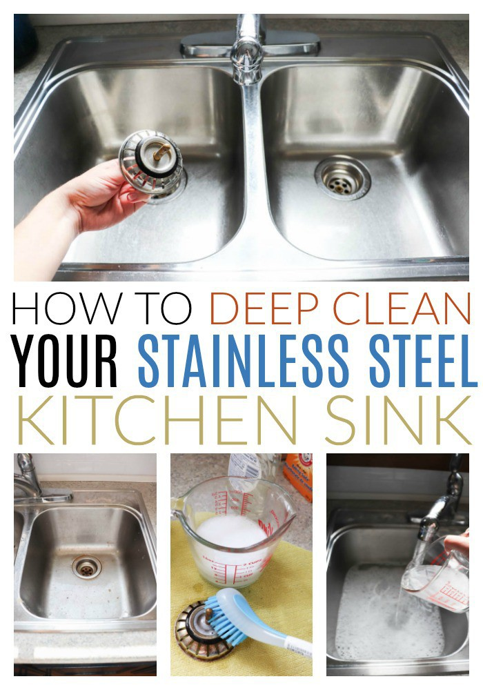 Clean a Stainless Steel Sink