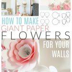 giant paper flower tutorial