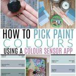 how to pick paint colours with a colour sensor