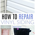how to repair vinyl siding