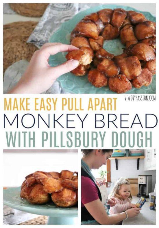 easy pull apart monkey bread recipe
