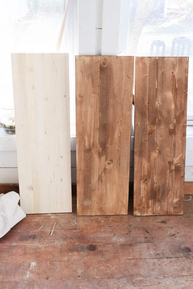 Wood Cut list to DIY Changing Table Dresser