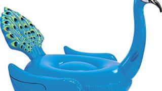 """Coconut Pool Float; Giant Peacock Pool Raft, 7' Pool Float, 87"""""""