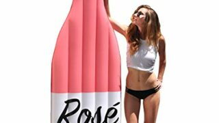 The Rosé Floaté® Pool Float Giant Inflatable Raft - Premium Rosé Wine Bottle Float