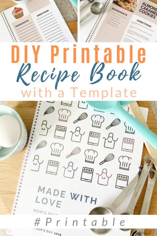Lucrative image inside printable cookbook