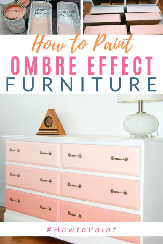 paint an ombre effect
