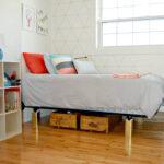 Under bed storage kids room
