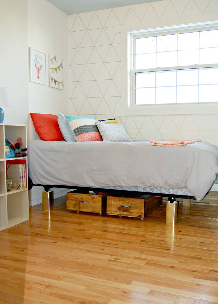 Make Your Own Under Bed Rolling Storage Crates Small